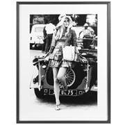 Luxe By Peter's - Brigitte Bardot W/Morgan Car Frame 60x80cm