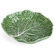 Bordallo Pinheiro - Natural Couve Salad Bowl 32.5cm
