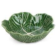 Bordallo Pinheiro - Cabbage Green Bowl 22cm