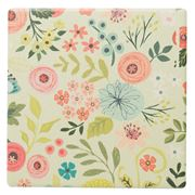 Thirstystone - Bouquets Coaster Green