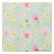 Thirstystone - Petals Coaster Teal & Pink