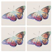 Thirstystone - Butterfly Coaster Set 4pce