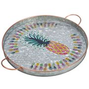 Industrial Luxe - Pineapple Party Round Tray