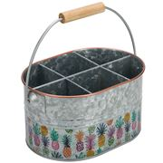 Industrial Luxe - Pineapple Party Flatware Caddy