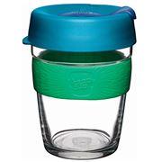 Keepcup - Brew Reusable Glass Cup Flora 340ml