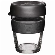 Keepcup - Brew Reusable Glass Cup Black 340ml