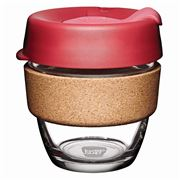 Keepcup - Brew Reusable Glass Cup Cork Edition Thermal 227ml