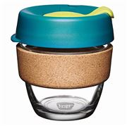 Keepcup - Brew Reusable Glass Cup Cork Edition Turbine 227ml