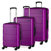 Paklite - Equator Spinner Case Set Purple 3pce