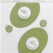Chilewich - On Edge Placemat & Coaster Set Dill 4pce