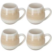 Robert Gordon - Hug Me Mug Tan Mediterranean Set 4pce