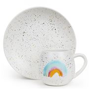 Robert Gordon - Children's Rainbow Mug and Plate Set
