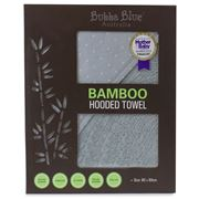 Bubba Blue - Grey Bamboo Hooded Towel