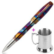 Montegrappa - Blazer Rollerball Pen with Steel Mug