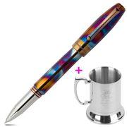 Montegrappa - Blazer Rollerball Pen with Steel Mug