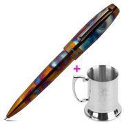 Montegrappa - Blazer Ballpoint Pen with Steel Mug