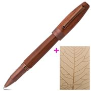 Montegrappa - Heartwood Pear Rollerball Pen w/Notebook