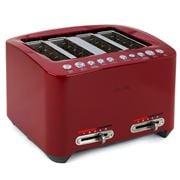 Breville - Smart Toast 4-Slice Toaster Cranberry