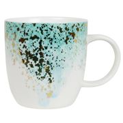 Robert Gordon - Celestial Mug Green White & Gold Splatter