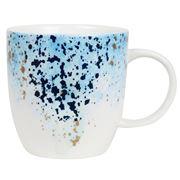 Robert Gordon - Celestial Mug Blue White & Gold Splatter