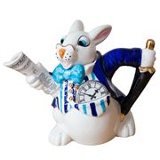 The Teapottery - White Rabbit Teapot