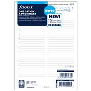 Filofax - A5 Day To A Page w/Appointments 2019 Diary Refill