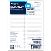 Filofax - A5 One Day On A Page 2019 Business Diary Refill