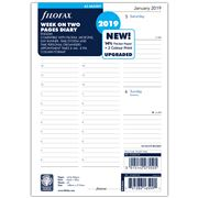 Filofax - A5 Multifit Week On Two Pages Column 2019 Refill