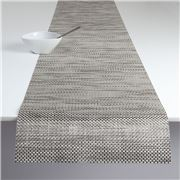 Chilewich - Basketweave Table Runner Oyster