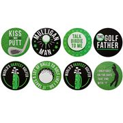 AT - The Golf Father Coaster Set 8pce