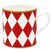 Halcyon Days - Parterre Red Mug