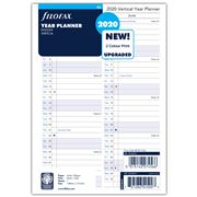 Filofax - A5 Vertical Year Planner 2020 Refill