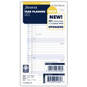 Filofax - Classic Personal Year Planner Vertical 2020 Refill