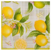 Caspari - Citron Lunch Napkins 20pce