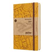 Moleskine - 2019 Daily Diary Hard Cover Harry Potter Large