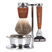 Gentleman London - Steamed Ash Shaving Set 4pce