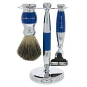Gentleman London - Electric Blue Shaving Set 3pce