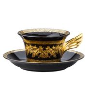 Rosenthal - Versace 25 Years Gold Baroque Teacup & Saucer
