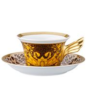 Rosenthal - Versace 25 Years Wild Floralia Tea Cup & Saucer