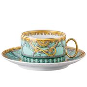 Rosenthal - Versace Scala Palazzo Verde Low Cup & Saucer