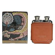 Ted Baker - Double Hip Flask Brown Brogue