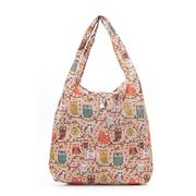 Eco-Chic - Foldaway Shopper Owl On The Branch Beige