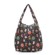 Eco-Chic - Foldaway Shopper Owl On The Branch Black
