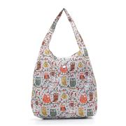 Eco-Chic - Foldaway Shopper Owl On The Branch Grey