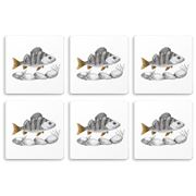 Charlotte Nicolin - The Scout Coaster Set 6pce