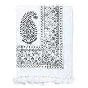 Cloth & Co - Paisley Tablecloth Dark Grey 150x280cm