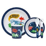 Ashdene - Dinoroar Kids Dinner Set 5pce