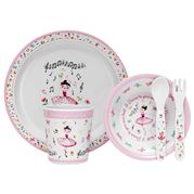 Ashdene - Ballerina Kids Dinner Set 5pce