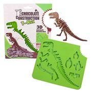 D Line - Chocolate Construction T-Rex 3D Chocolate Mould