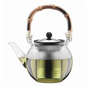 Bodum - Assam Teapot with Bamboo Handle 1.0L